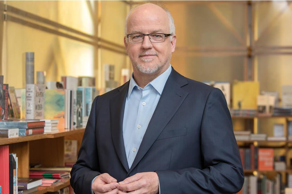 Porträtbild unseres Geschäftsführers Michael Bürker